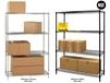 JAKEN STATIONARY WIRE SHELVING UNITS