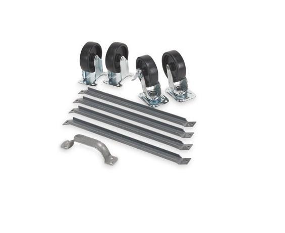 BIN SYSTEM MOBILE KIT - CASTERS & HANDLE