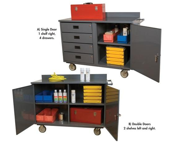 "46"" WIDE ECONOMY MOBILE CABINET"