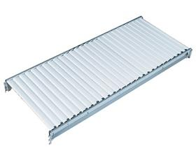 STORAGE RACK COMPONENTS - COMPLETE CORRUGATED STEEL DECKS