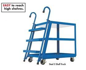 TIME-SAVING STOCKPICKER TRUCKS