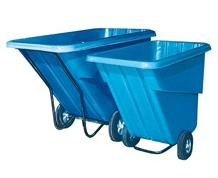 DURABLE POLY TILT TRUCK