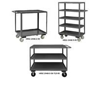 2 / 3 / 4 / 5 SHELF STOCK CARTS