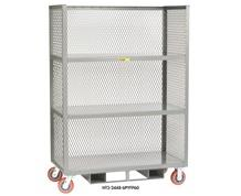 ALL-WELDED FORKLIFTABLE ORDER PICKING TRUCK