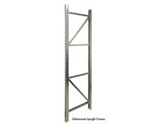 GALVANIZED STORAGE RACKS - UPRIGHT FRAMES